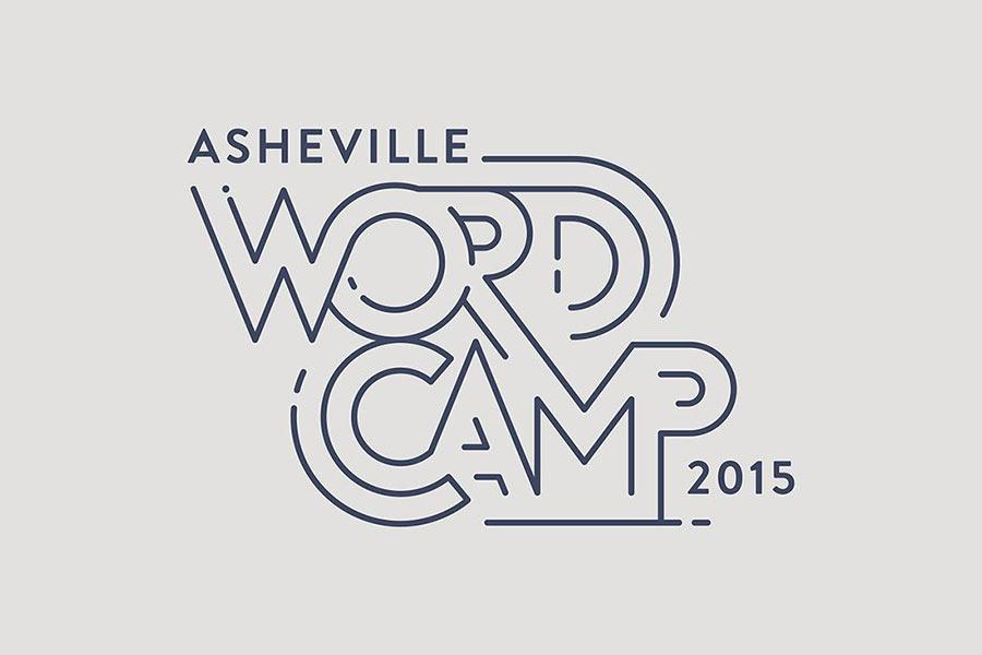 WordCamp Asheville identity