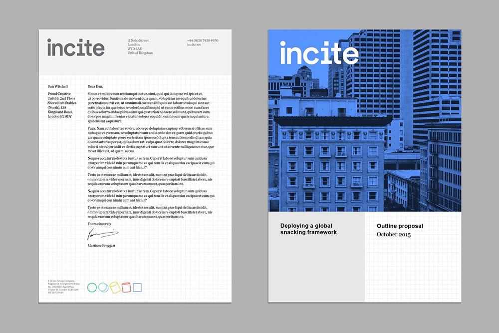 Incite typography