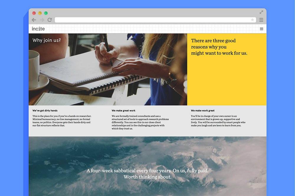 Incite website