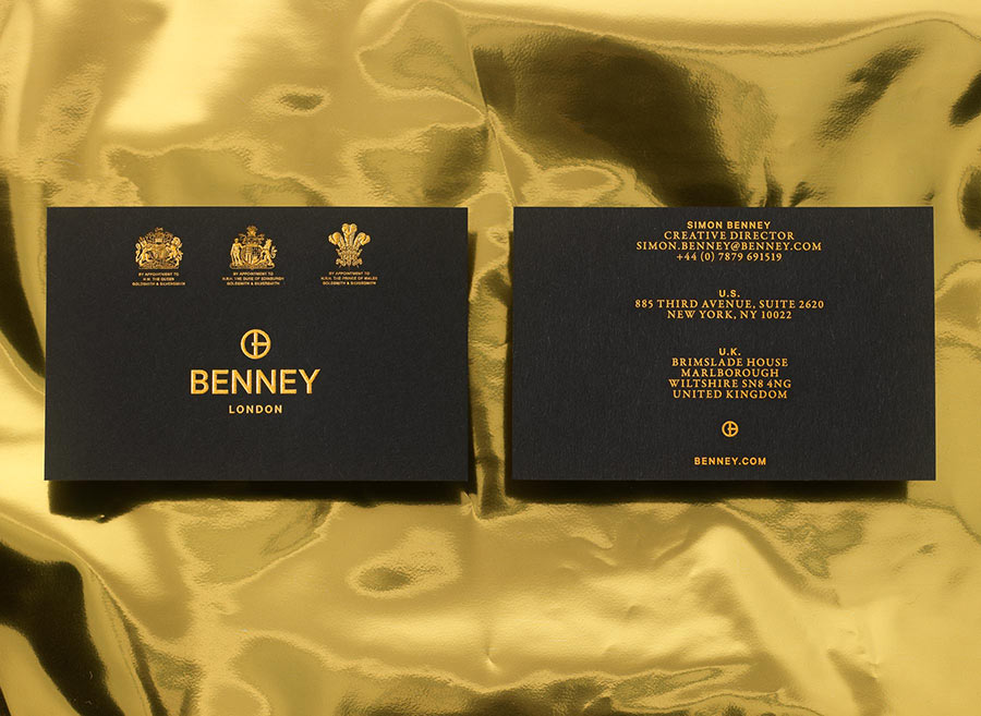 Benney identity design