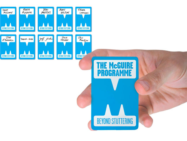 The McGuire Programme brand identity