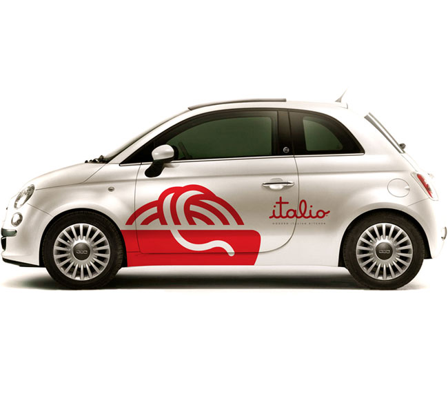 Italio brand identity