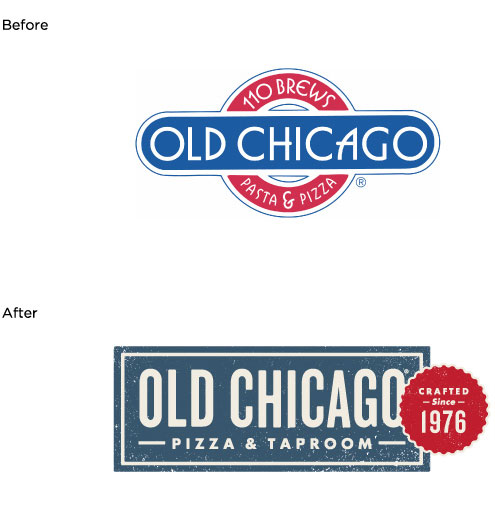 Old Chicago brand identity