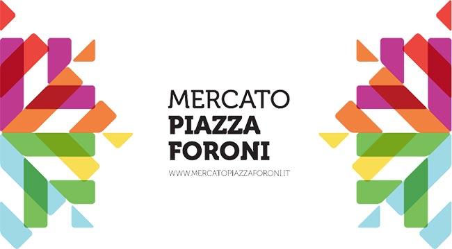 Mercato Piazza Foroni identity
