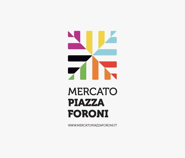 Mercato Piazza Foroni logo