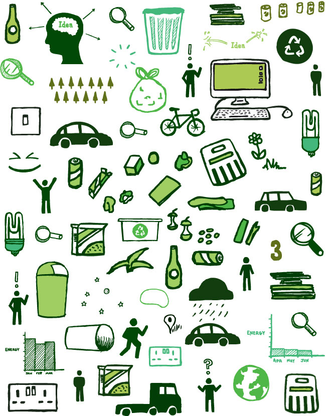 Think Green identity design