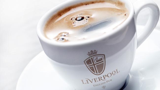 Liverpool English Pub brand identity