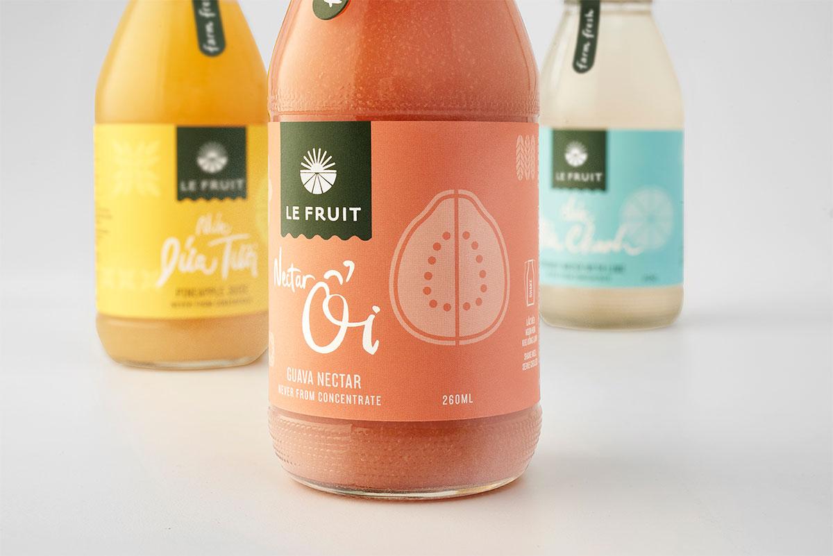 Le Fruit identity
