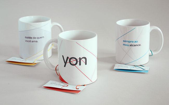 Yon identity design
