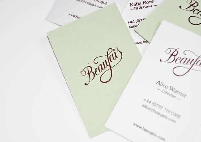 Beaujais brand identity design