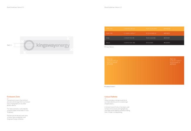 Kingsway Energy brand identity