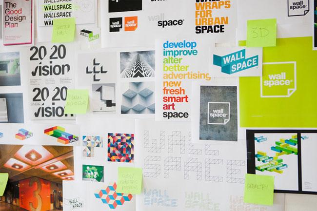 Wallspace brand identity