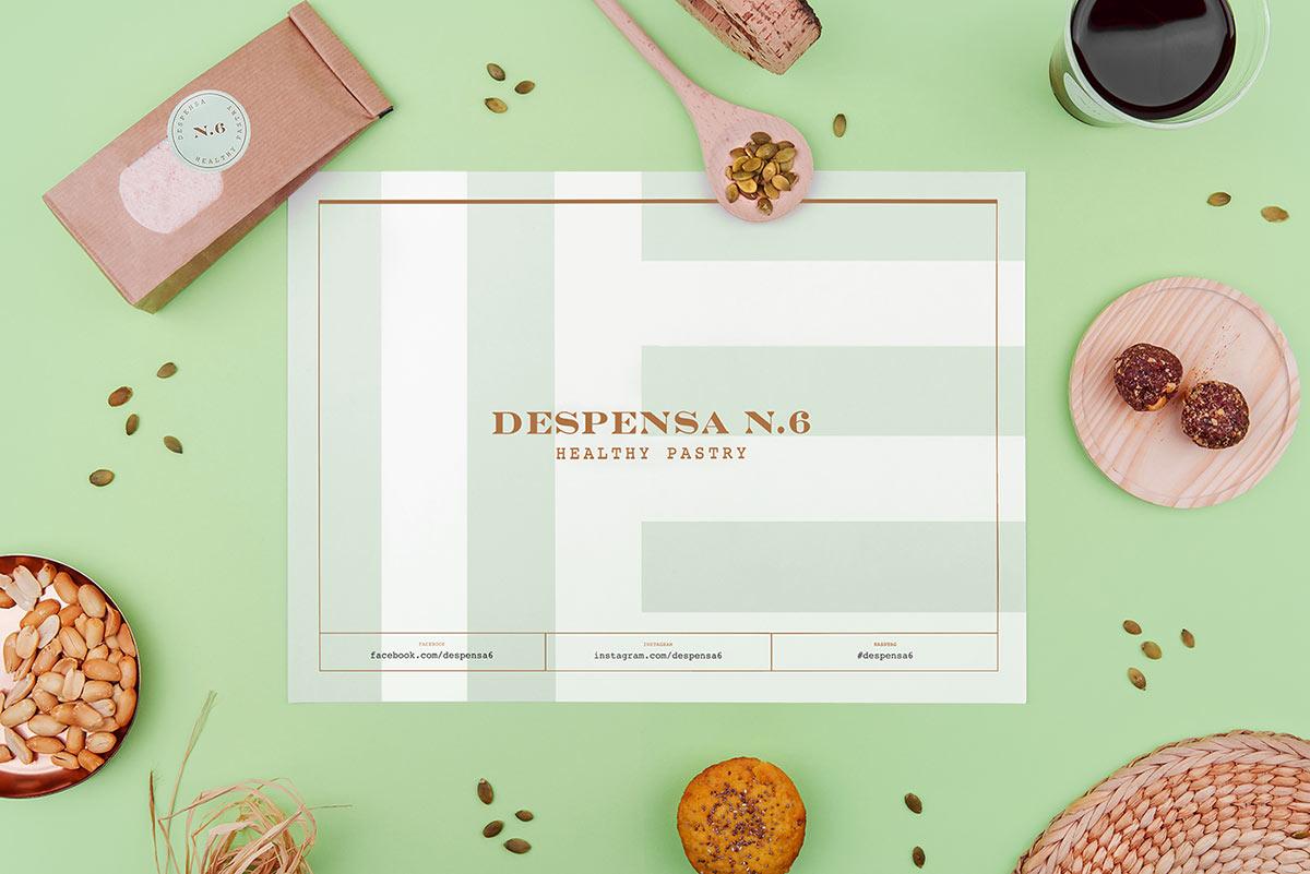 Despensa N6 identity design