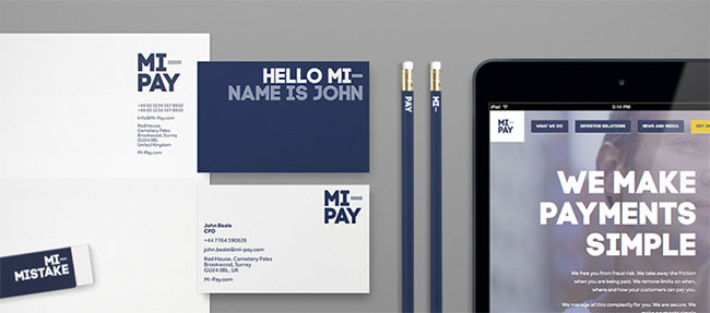 Mi-Pay stationery