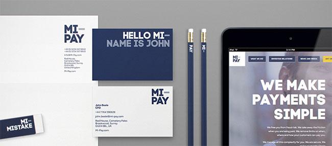 Mi-Pay stationery