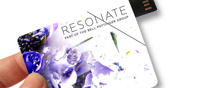 Resonate brand identity design