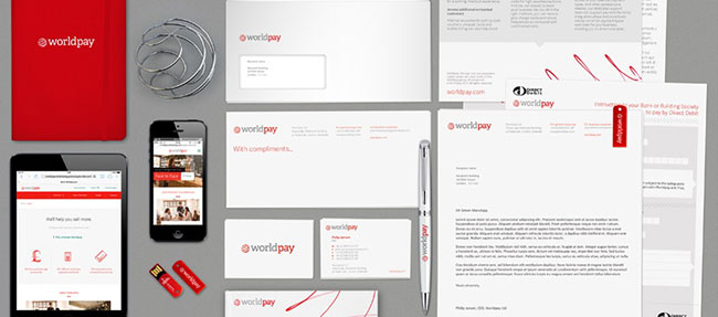 Worldpay identity design