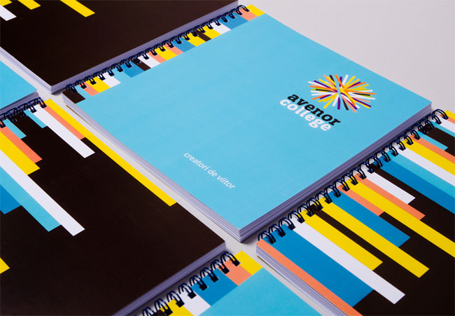 Avenor College brand identity design