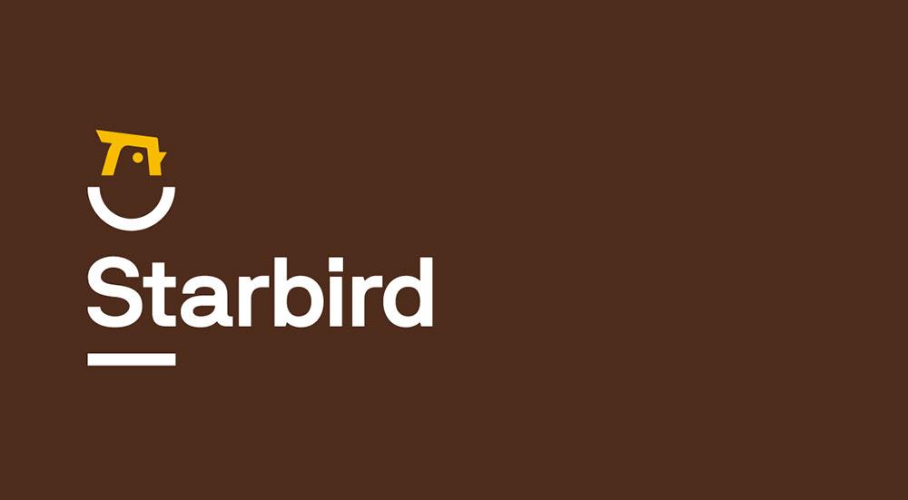 Starbird Chicken identity design