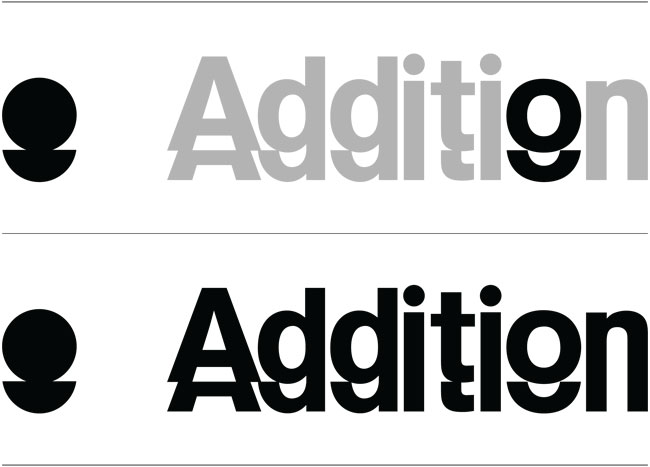 Addition brand identity design