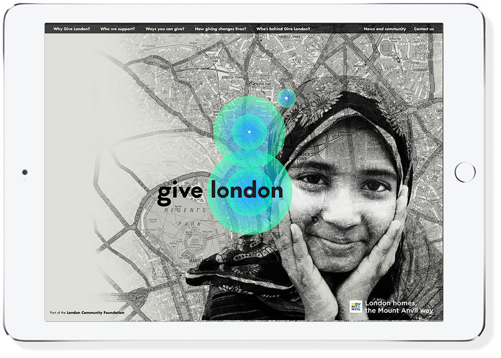 Give London website