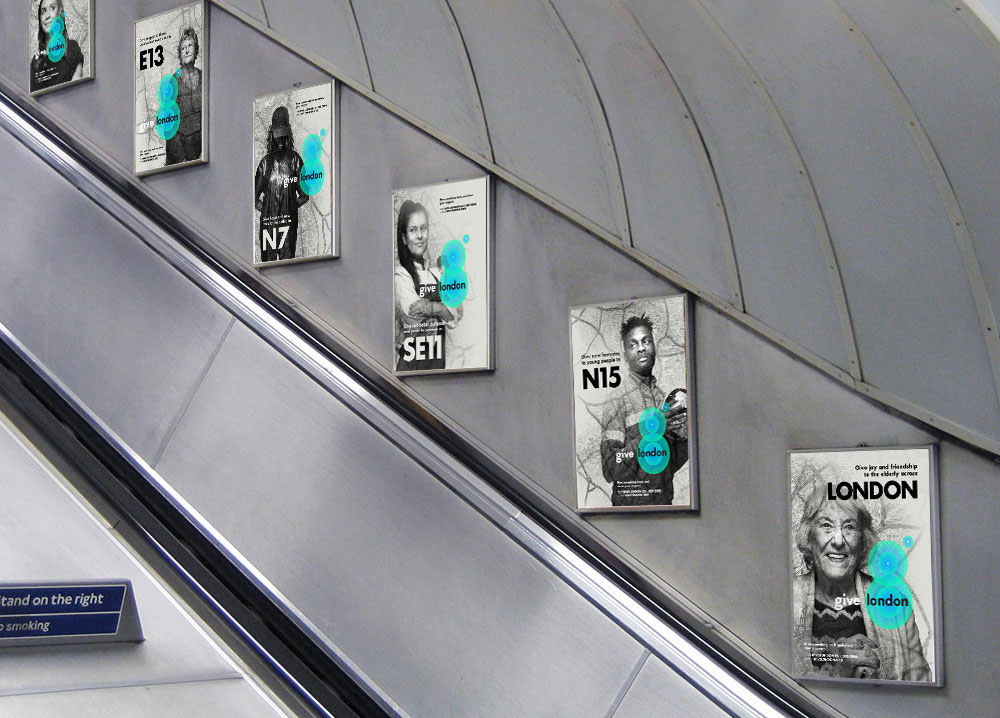 Give London posters