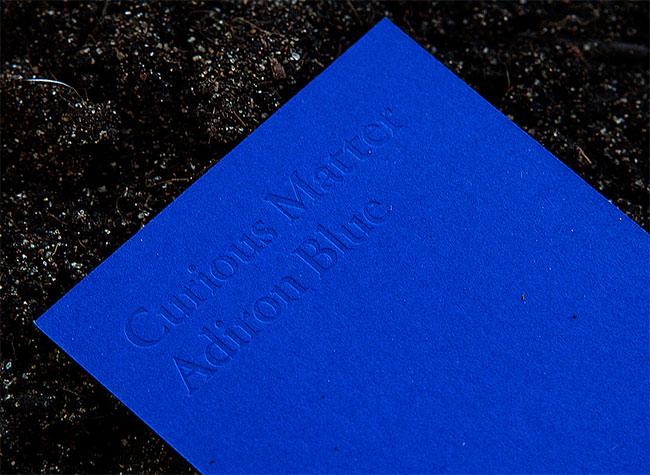 Curious Matter bookmark