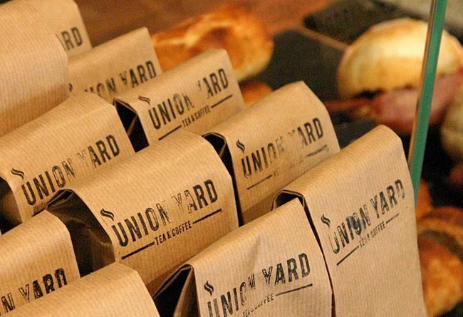 Union Yard brand identity design