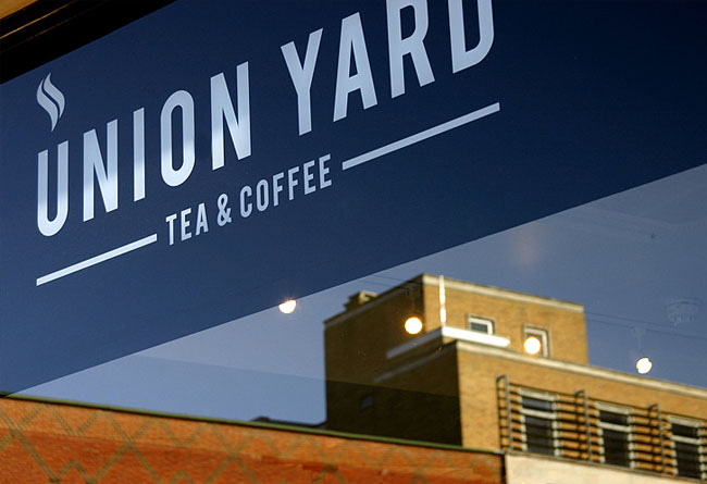 Union Yard brand identity design