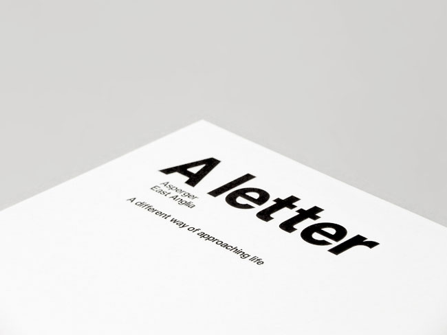 Asperger East Anglia letterhead