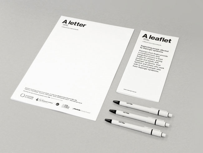Asperger East Anglia stationery