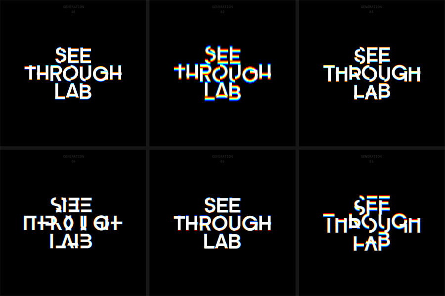 See Through Lab identity