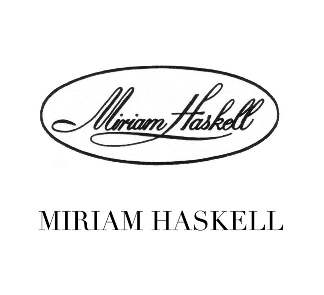 old Miriam Haskell logo