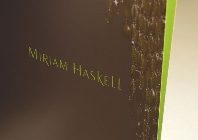 Miriam Haskell press folder