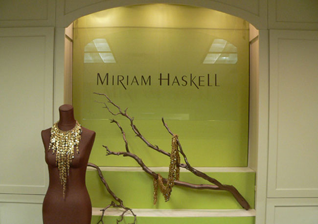 Miriam Haskell showroom