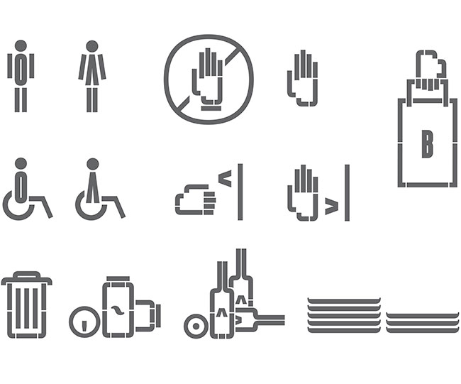Bacoa pictograms