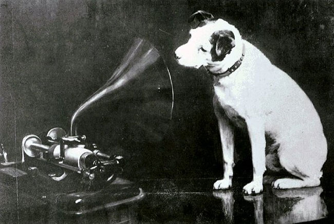 hmv Nipper Francis Barraud
