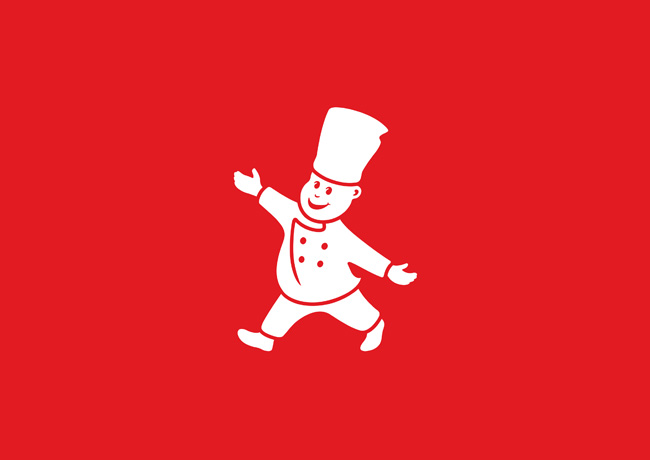 Little Chef logo Charlie