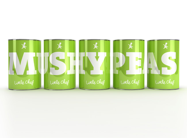 Little Chef mushy peas