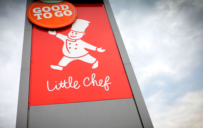 Little Chef signage