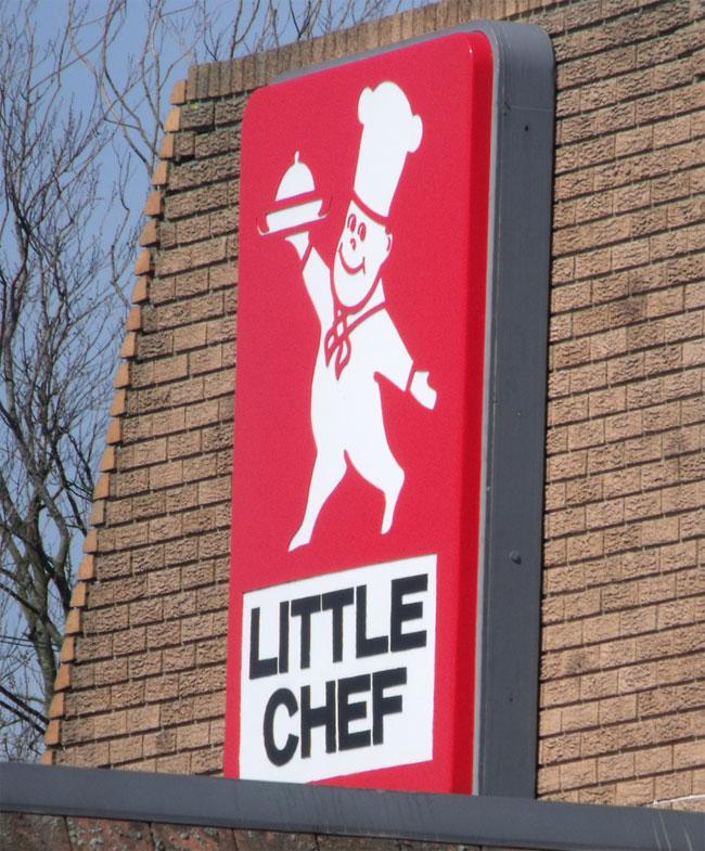 Little Chef Logo Cup Mug former British food chain