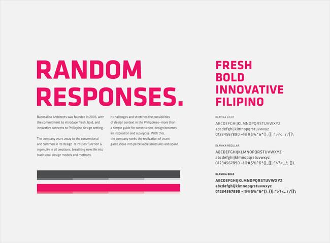 Buensalido+Architects brand identity