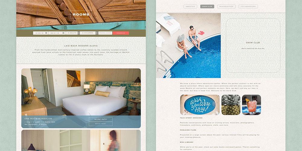Surfjack Hotel identity design