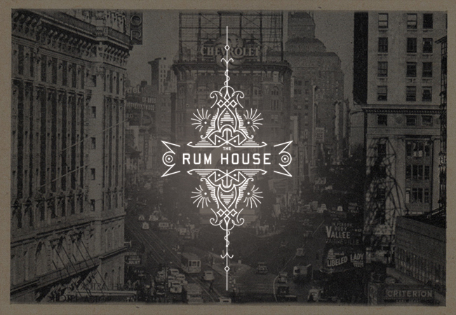 The Rum House logo concept
