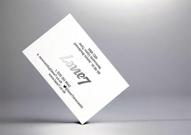 Lane7 identity design