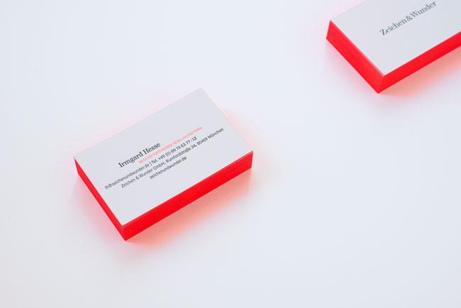 Zeichen & Wunder brand identity