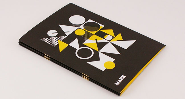 MARK book cover, A-Side