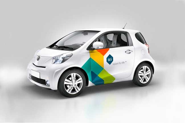 ITI Smart car branding
