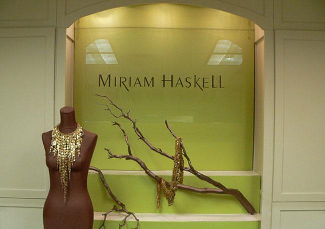 Miriam Haskell showroom