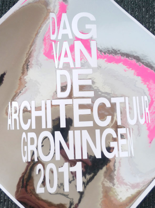Day of Architecture Groningen poster